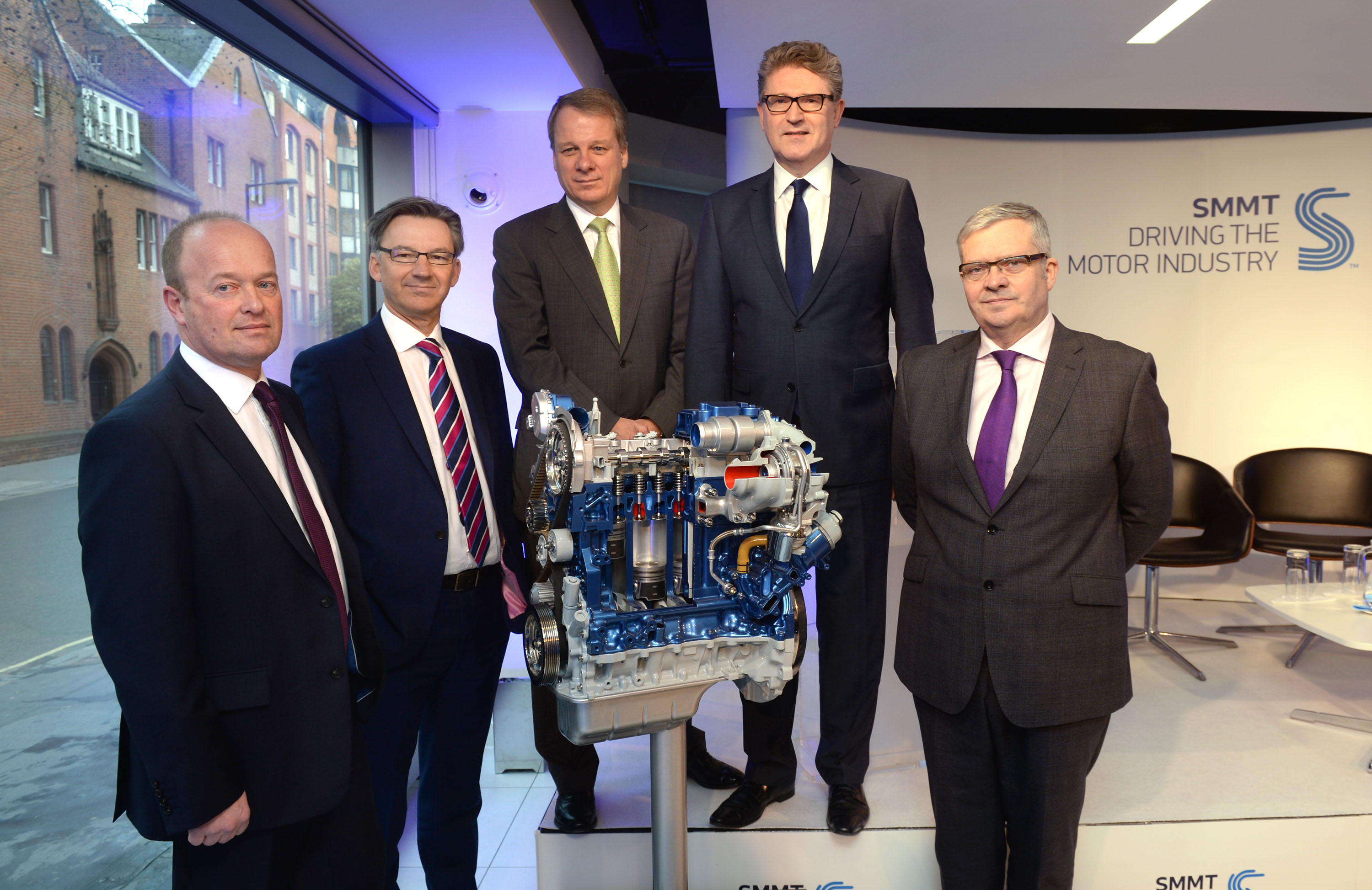 Mike Hawes and automotive industry managing directors