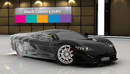 39 black country bullet 39 shows off uk auto manufacturing talent smmt. Black Bedroom Furniture Sets. Home Design Ideas