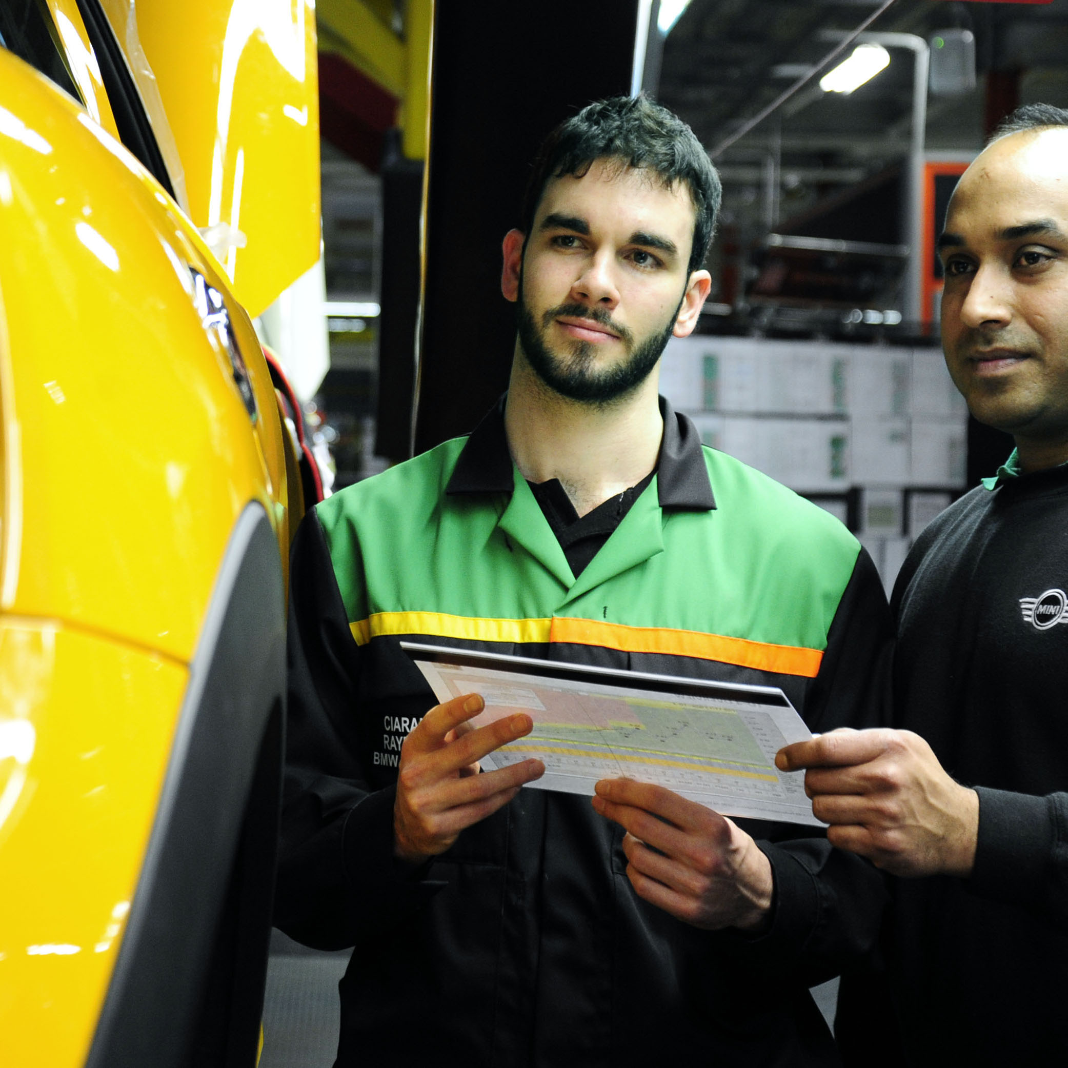 Automotive education, training and skills