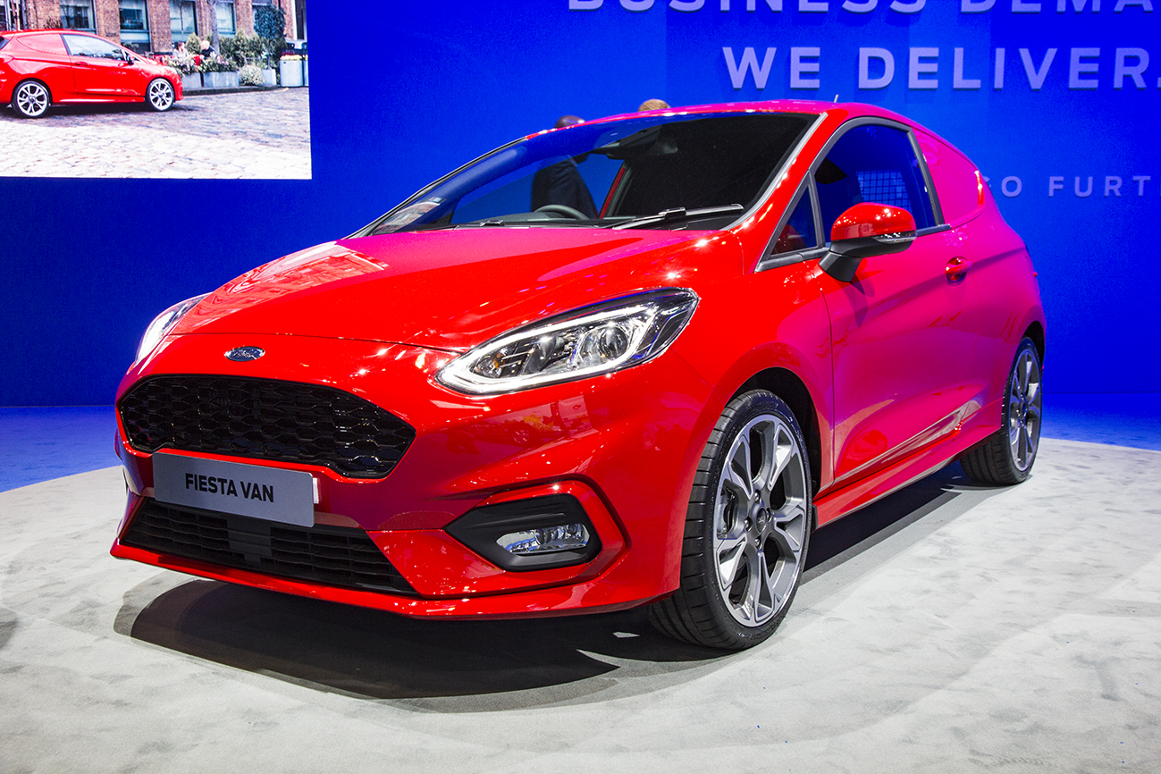 World debut for Ford Fiesta Sport Van at CV Show - SMMT