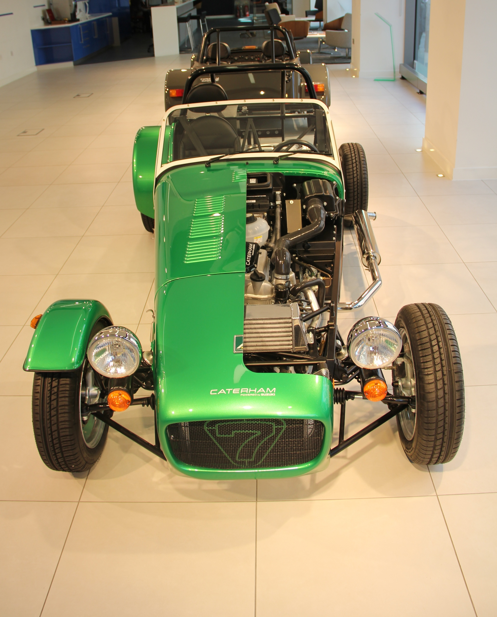 Caterham Shows Its Might At SMMT