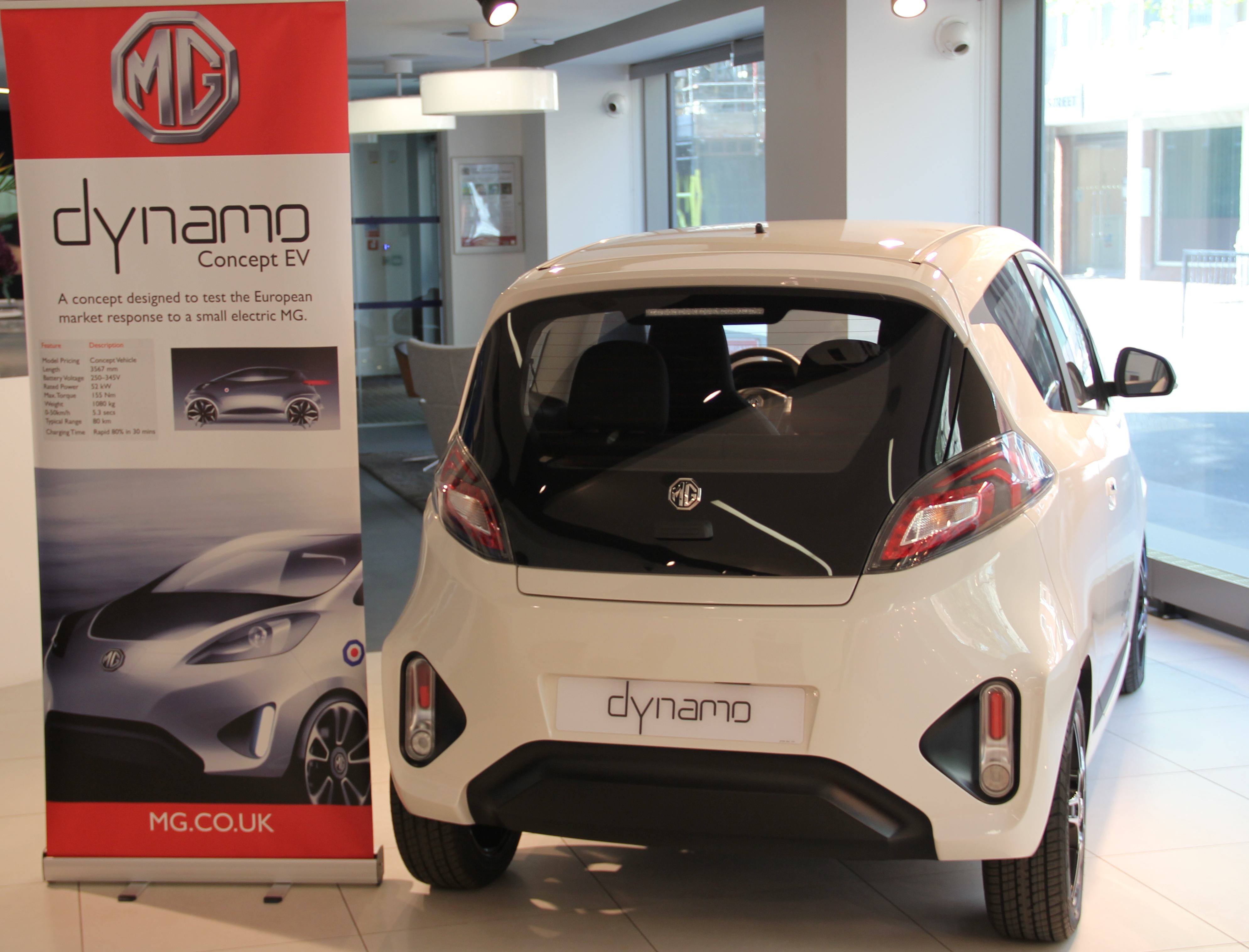 Mg Celebrates 90 Years With Global Debut Of Dynamo Concept