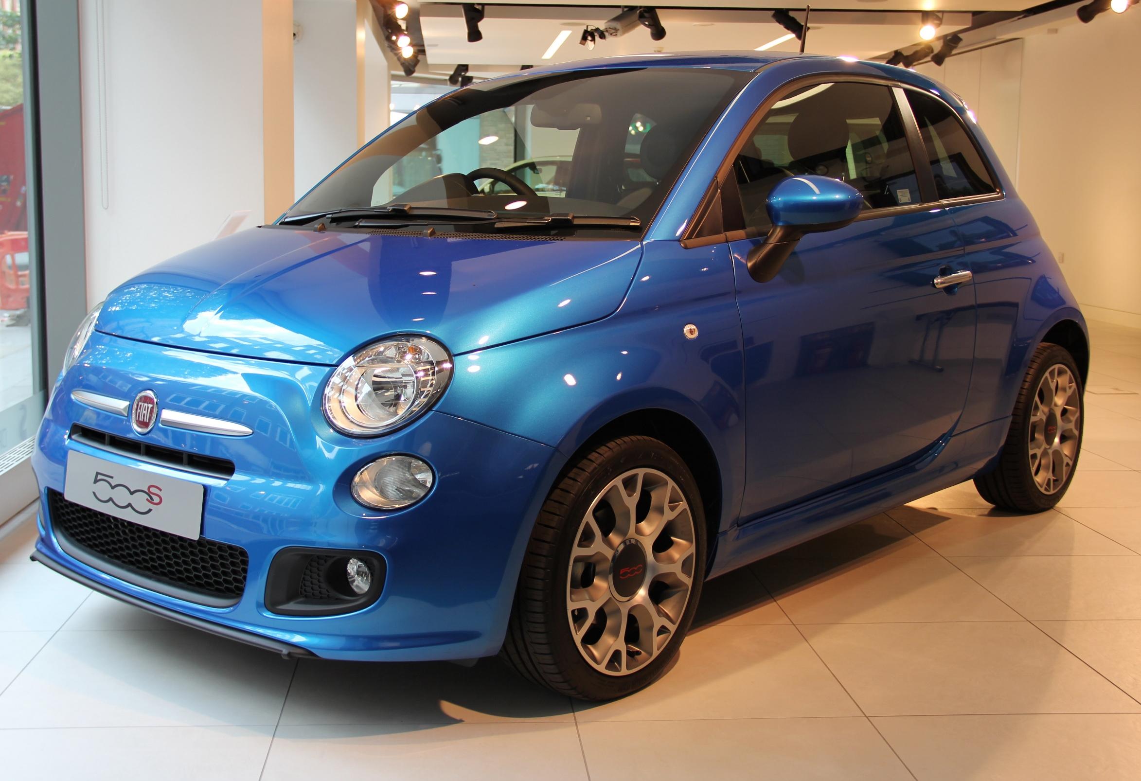 Fiat 500 Pop >> Fiat's 'little mouse' grows up at SMMT - SMMT