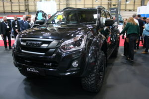 Isuzu UK Has Launched Its Limited Edition D Max Stealth Pick Up On Its  Stand At This Yearu0027s CV Show.