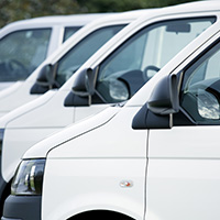 Stable growth for new van market in July