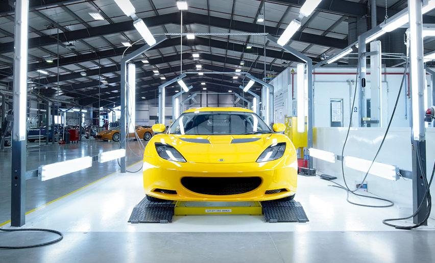 Lotus Creates 100 Uk Engineering And Manufacturing Jobs Smmt