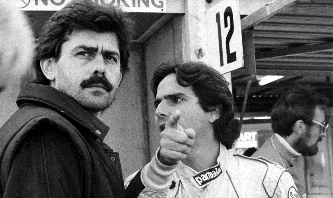 Gordon Murray at Brabham F1 team with Nelson Piquet