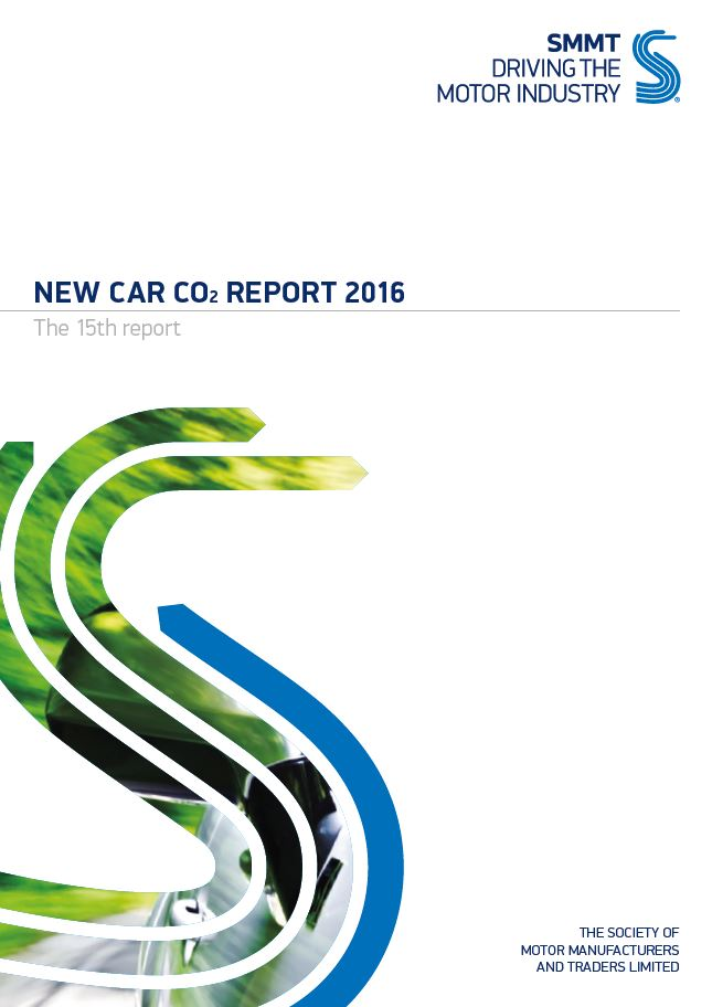 New car CO2 report 2016
