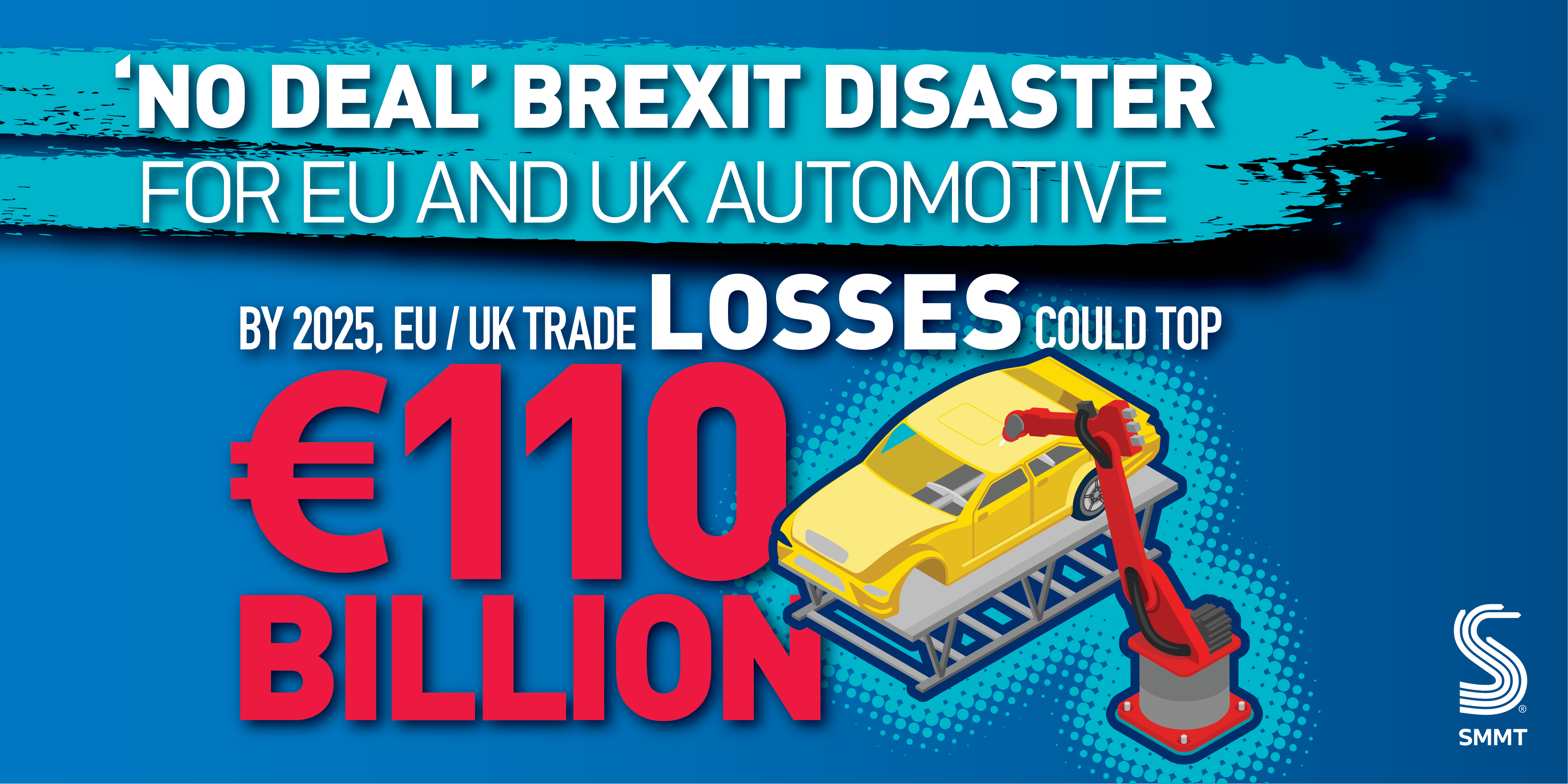 Only weeks left to save EU and UK auto sectors from €110 billion 'no deal' Brexit disaster