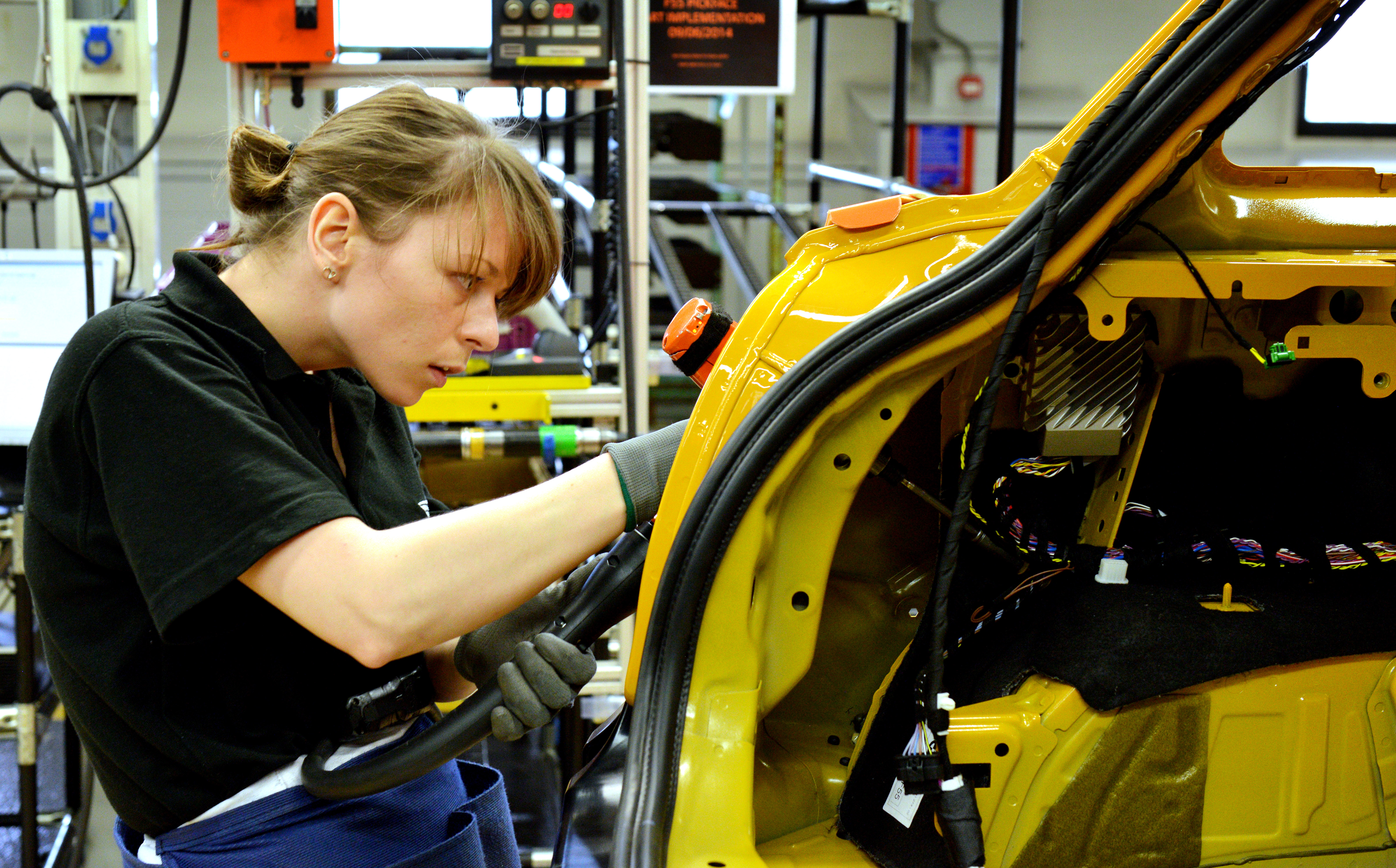 girls  technical  bmw work experience smmt