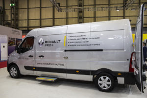 At This Years CV Show Renault Pro Commercial Vehicles Has Announced A New Sign Writing Service For Customers
