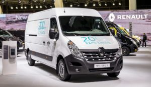 Electric Van Master ZE is the largest vehicle in Renault's Electric Van line-up and has a quoted range of 124 miles on its all-new battery pack, which will become a key part of the powertrain for all Renault electric vehicles from now on.