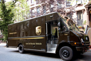 UPS reveals world's first hydrogen-electric fuel cell delivery van