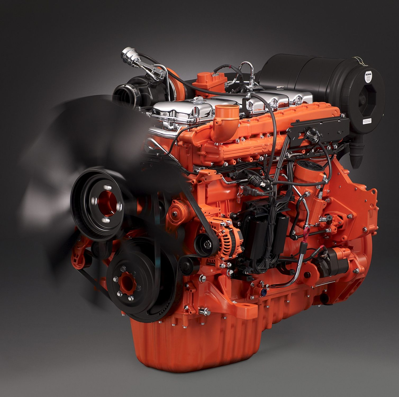 New engines for latest generation Scanias - SMMT